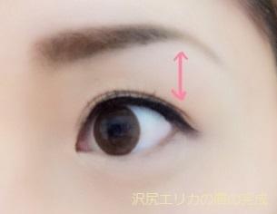沢尻エリカの眉の完成.jpg